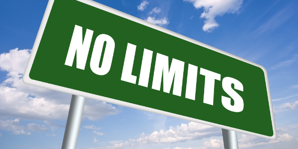 No Limits Sign Image